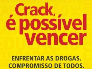 Prefeitura adere ao programa Crack, é possível vencer