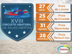 Inscrições abertas para 1ª etapa do 18º Circuito Ubatuba de Águas Abertas