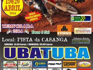 Ubatuba recebe segunda etapa do Circuito Interior Paulista de Motocross 2014