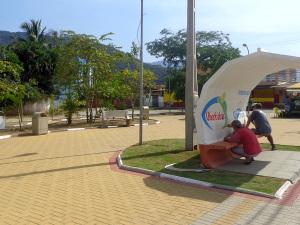 Secretaria de Obras atende Pereque-Açu e estrada do Monte Valério