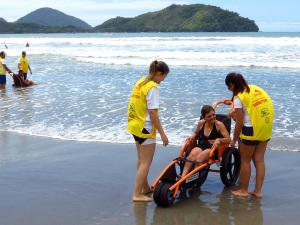 Prefeitura divulga calendário do Praia Acessível em 2014
