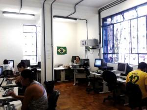 Prefeitura oferece espaço gratuito para uso de computadores