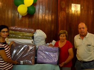Campanha do Agasalho segue em andamento e recebe 25 cobertores