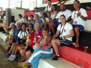 Ubatubense Maria Célia Zambello é medalha de ouro nos Jogos Abertos do Idoso