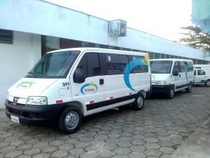 Novas vans para transporte de pacientes começam a rodar