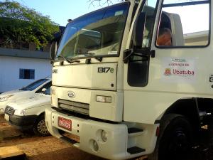 Novos caminhões estão à disposição da população de Ubatuba