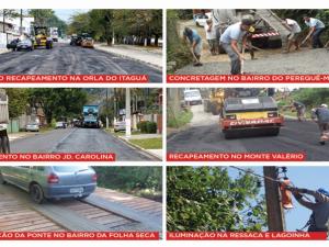 Prefeitura recupera vias da cidade