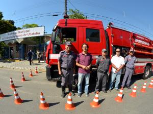 Corpo de Bombeiros de Ubatuba conquista caminhão