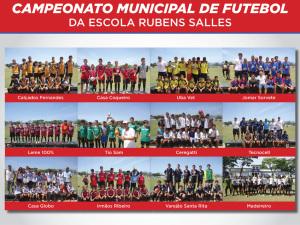 Festa do Campeonato de Futebol Rubens Salles reúne campeões no campo do Marconi