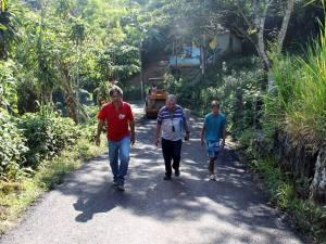 Recapeamento contempla estrada do Palhal no Perequê-Mirim