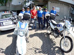 Guarda Municipal recebe novas motos e uniformes de Verão