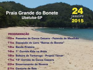 167ª Festa de São Sebastião da Praia Grande do Bonete une música e cultura