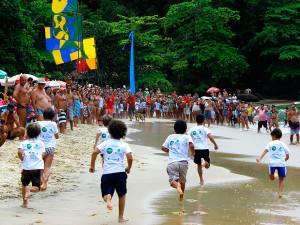 Festa de São Sebastião reúne famílias e jovens na praia Grande do Bonete
