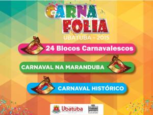 Confira a programação do Carnaval em Ubatuba