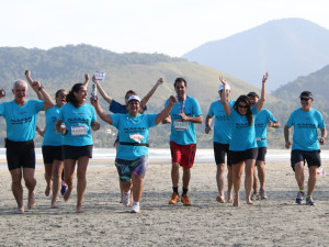 Desafio 28 Praias de Revezamento desembarca em Ubatuba