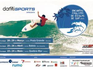 Praia Grande recebe abertura do Encontro Paulista de Escolas de Surf