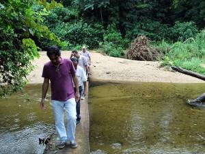 Prefeitura constrói pontes nos quilombos da Fazenda e do Jambeiro