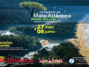 Festival da Mata Atlântica começa nesta quarta-feira em Ubatuba