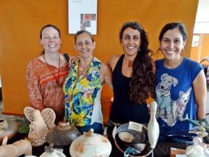 Fundart leva ceramistas de Ubatuba para encontro internacional em Paraty