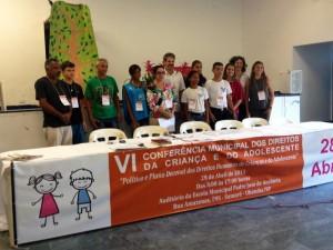 VI Conferência Municipal dos Direitos da Criança e do Adolescente elege delegados