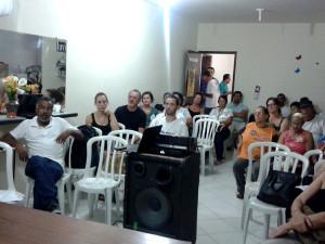 Fórum de Economia Solidária reúne mais de 40 pessoas no Perequê-Mirim