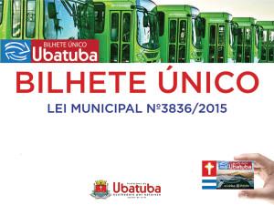 Bilhete Único entra em vigor em Ubatuba