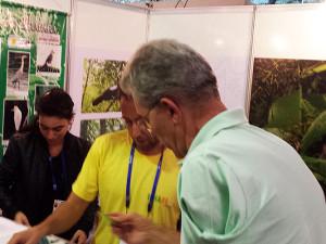 Ubatuba marca presença no 10º Encontro Brasileiro de Observação de Aves
