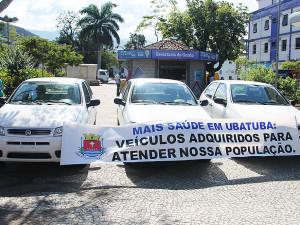 Secretaria de Saúde recebe três carros para Atenção Básica