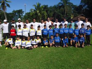 Começam as comemorações dos 40 anos da E.M Rubens Salles de Futebol