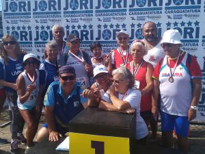 Ubatuba fica com sexta colocação geral nos Jogos Regionais do Idoso 2015