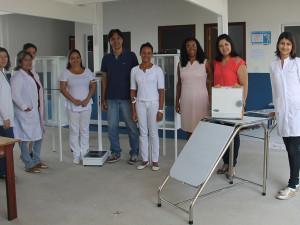 Prefeitura entrega kits para postos de Saúde