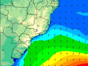 Previsão indica boas ondas na praia Grande para abertura do Ubatuba Pro Surf 2015