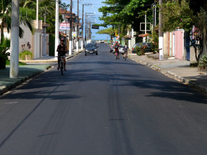 Prefeitura conclui recapeamento da alternativa Centro-Itaguá