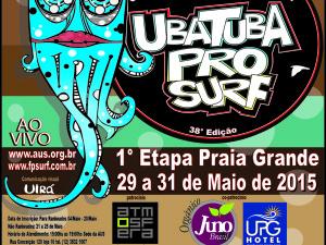Ubatuba Pro Surf 2015 começa na praia Grande e as inscrições estão abertas