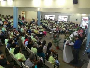 Conferência Municipal dos Direitos do Idoso reúne centenas de pessoas na Unitau
