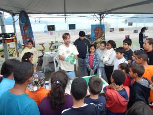Estudantes ubatubenses participam de diferentes atividades do Festival da Mata Atlântica