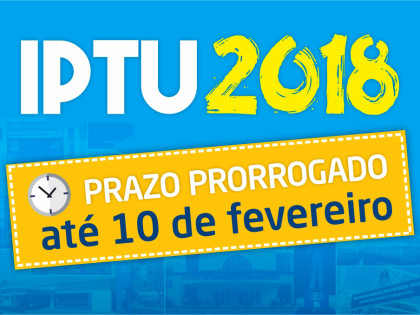 Ubatuba prorroga até o dia 10 prazo de pagamento do IPTU com desconto