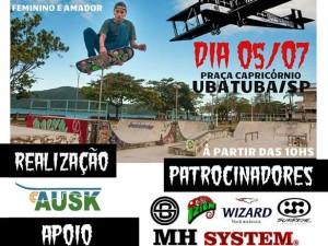 Circuito AUSK de Skate está marcado para começar neste domingo na Praça Capricórnio