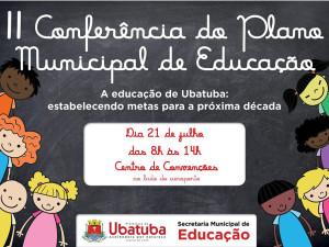 Conferência do Plano Municipal de Educação acontece no Centro de Convenções