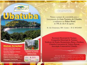 Ubatuba lança guia turístico oficial nesta quinta-feira no Palace Hotel