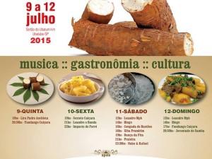 15ª Festa da Mandioca do Ubatumirim anima o feriado na costa norte