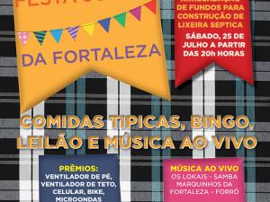 Associação da Fortaleza organiza festa julina beneficente neste sábado