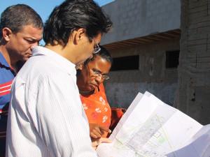 Avança a construção da Unidade Básica de Saúde do Perequê-Açu