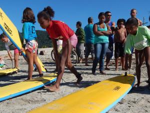 Campeonato do Projeto Onda Educacional integra família e comunidade na Itamambuca