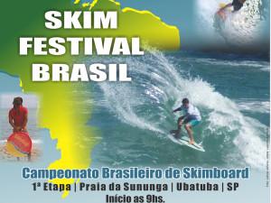 Skim Festival Brasil 2015 começa durante o feriado na praia da Sununga