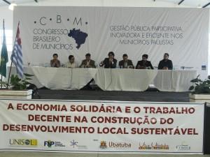 Debate reforça papel da economia solidária na promoção dos direitos humanos
