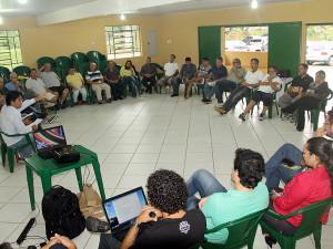 Prefeito e secretários municipais participam do Café com Empresários na Aciu