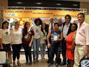 Prefeitura e rede Ubasol participam do 4o. Congresso da Unisol em São Paulo