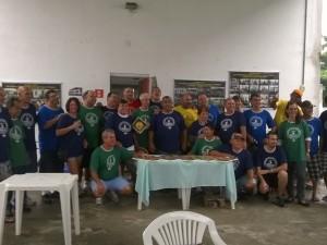 Ex-atletas celebram 40 anos do movimento Rubens Salles