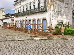 Prefeitura e FundArt começam restauro do Sobradão do Porto